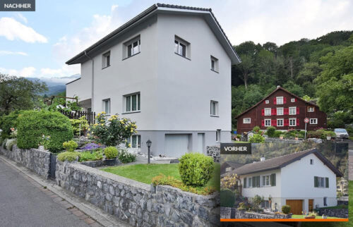 Wie Familie Dalla Valle mit einer Dachaufstockung mehr Wohnraum bekam